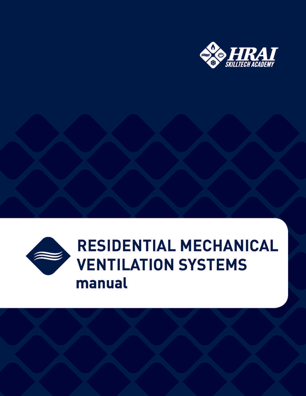Hrai Residential Mechanical ventilation manual